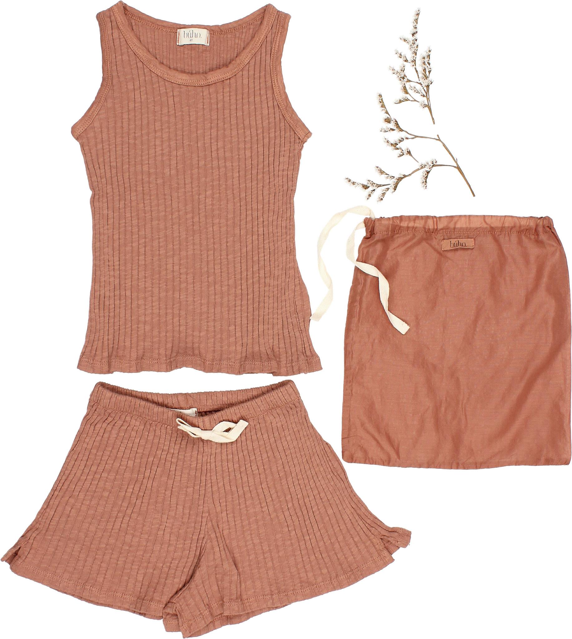 Summer pyjama set cocoa-1