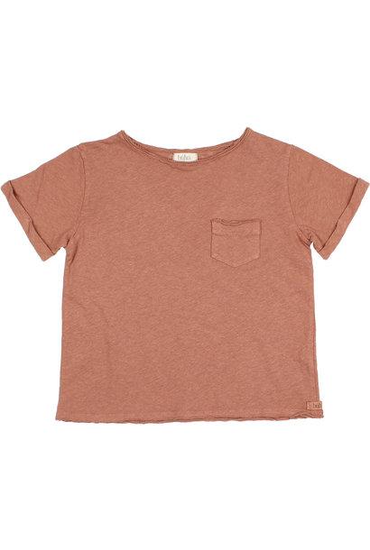 James t-shirt cocoa