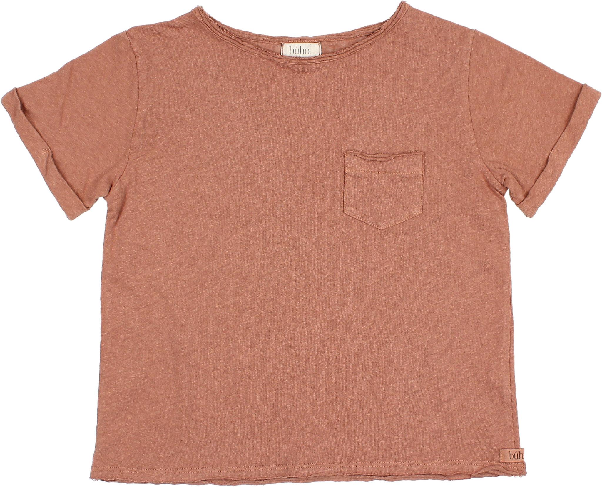 James t-shirt cocoa-3