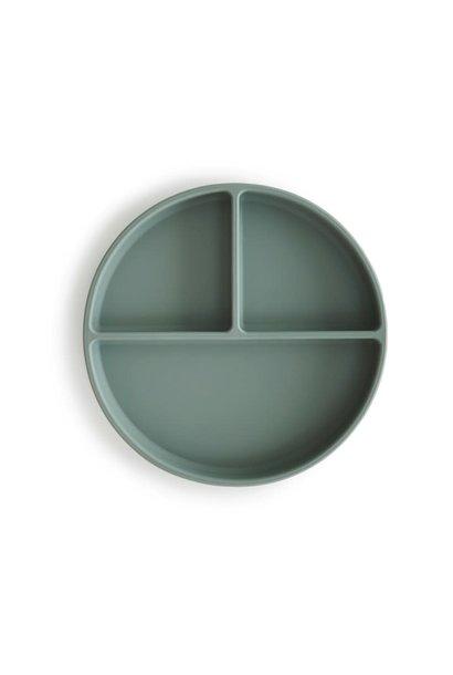 Silicone plate cambridge blue