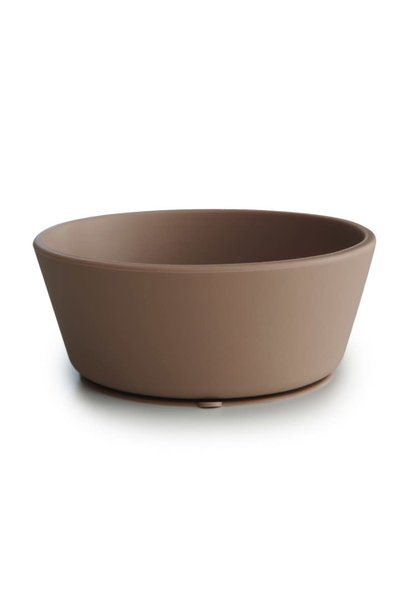 Silicone bowl natural