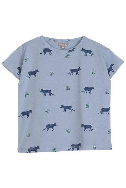 Tee shirt mousson tigre kids