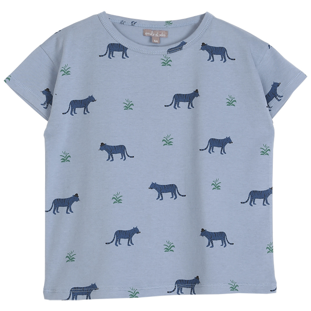 Tee shirt mousson tigre kids-1
