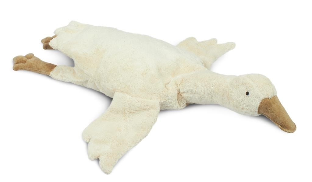 Cuddly animal goose small off-white-1