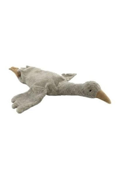 Cuddly animal goose small grey
