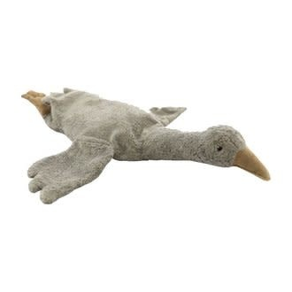 Cuddly animal goose small grey-1