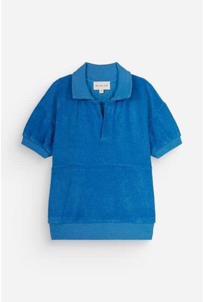 Polo leonard bright blue kids