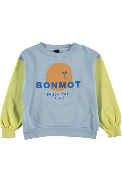 Sweatshirt enjoy sunshine yellow