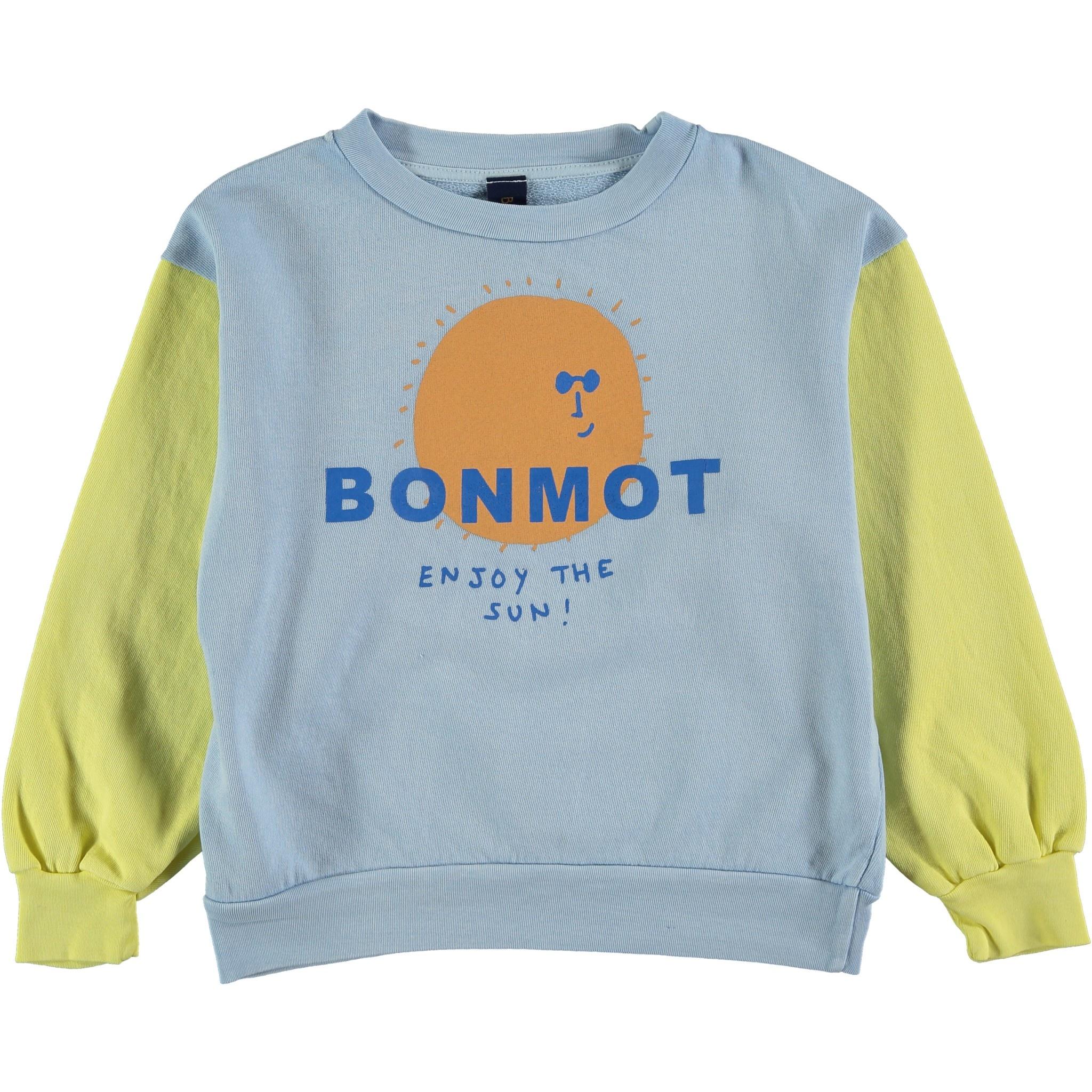 Sweatshirt enjoy sunshine yellow-1