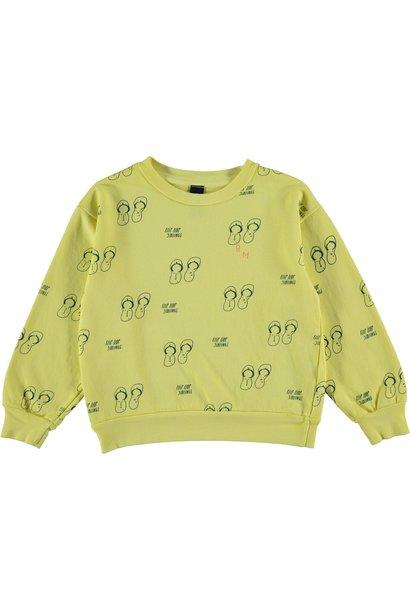 Sweatshirt siblings sunshine yellow