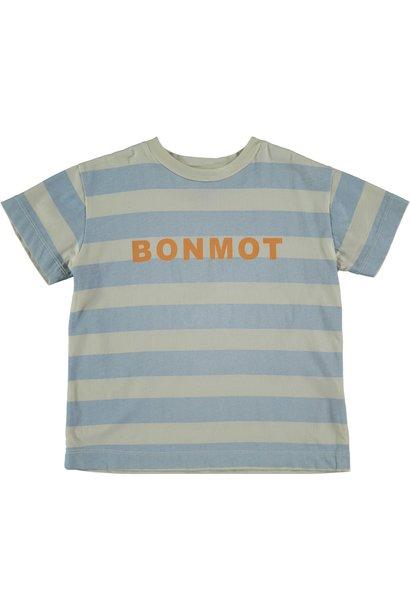 T-shirt bonmot stripes ivory
