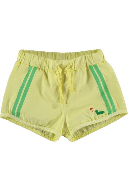 Swim short palm sunshine yellow kids