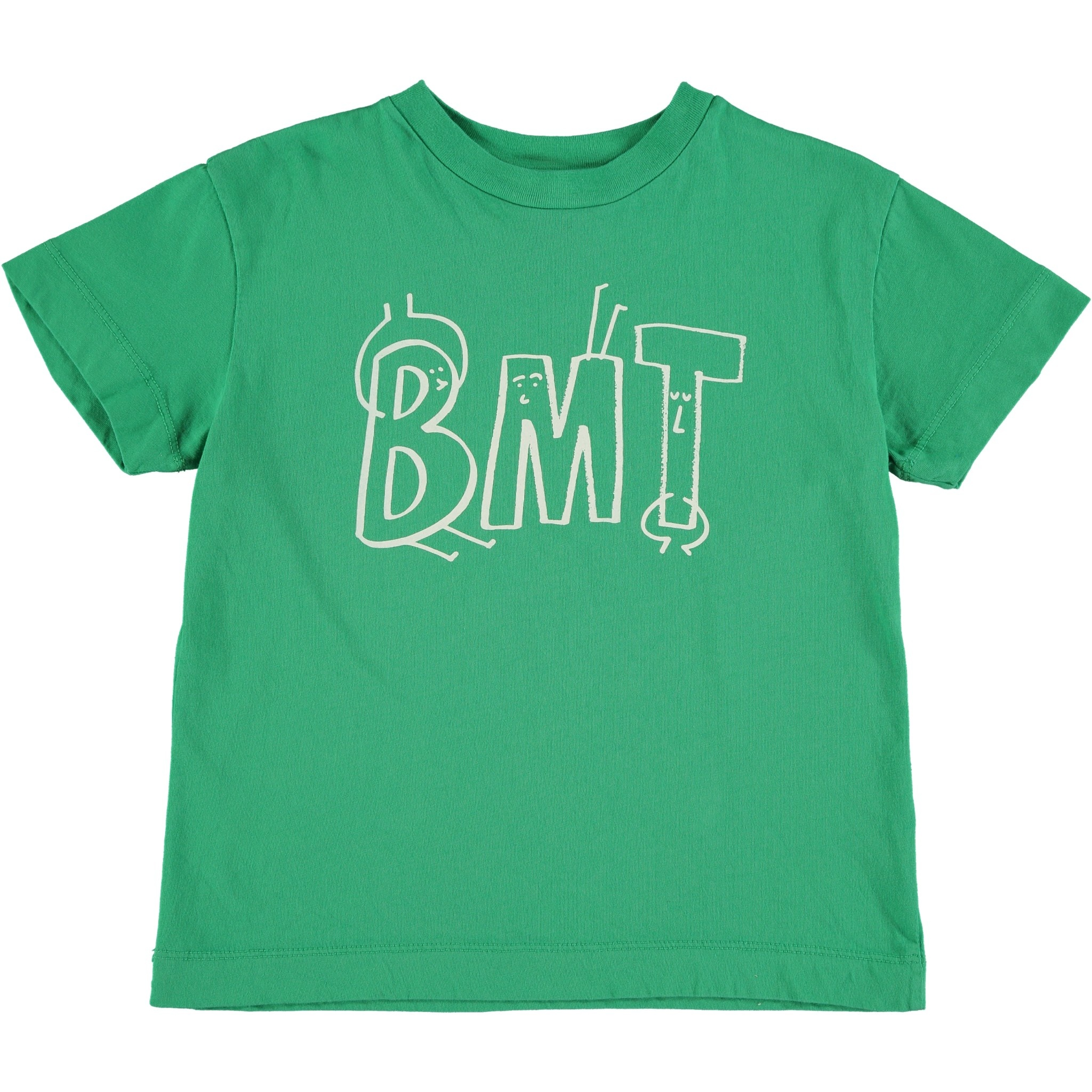T-shirt bmt buddy green kids-1