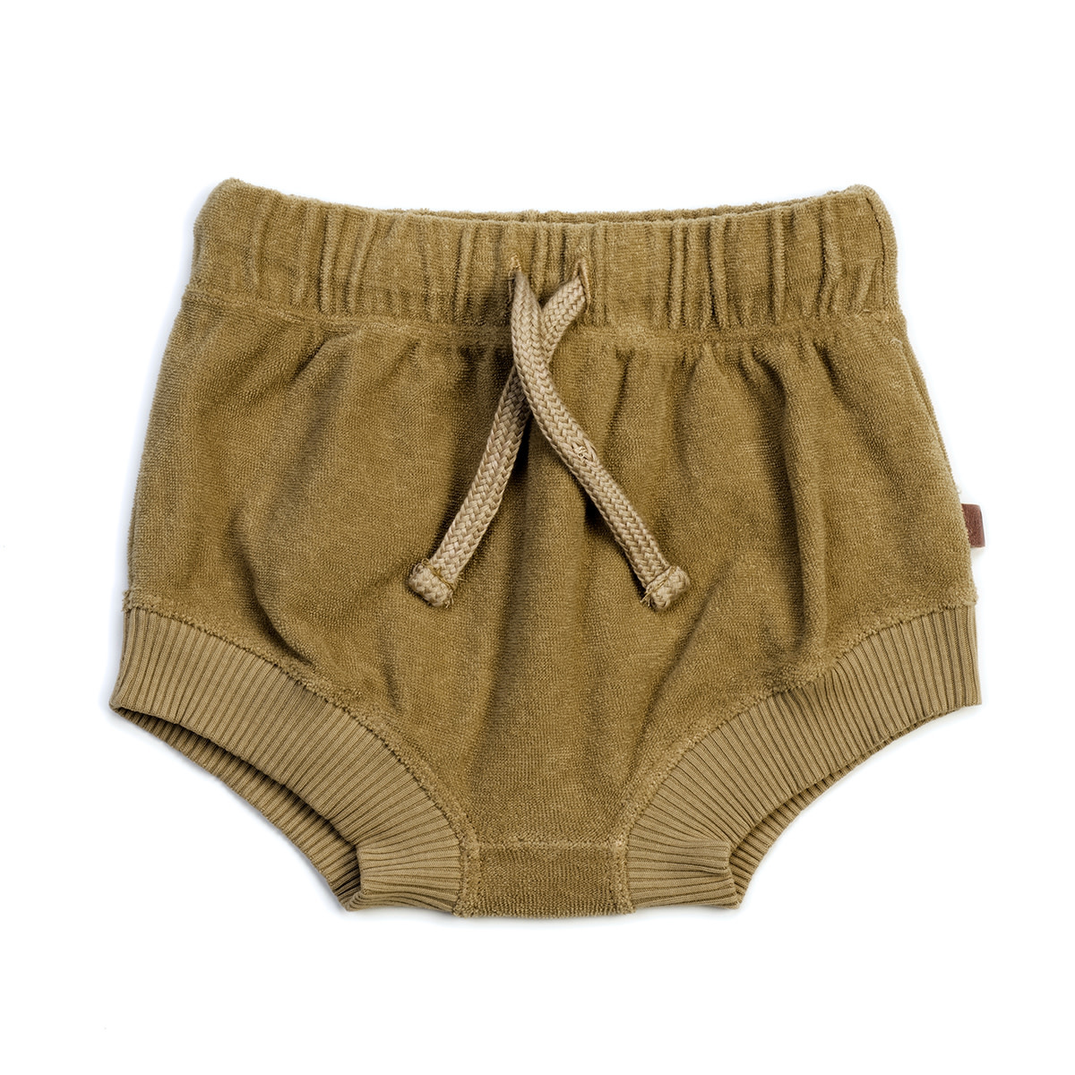 Organic terry bloomers olive-1