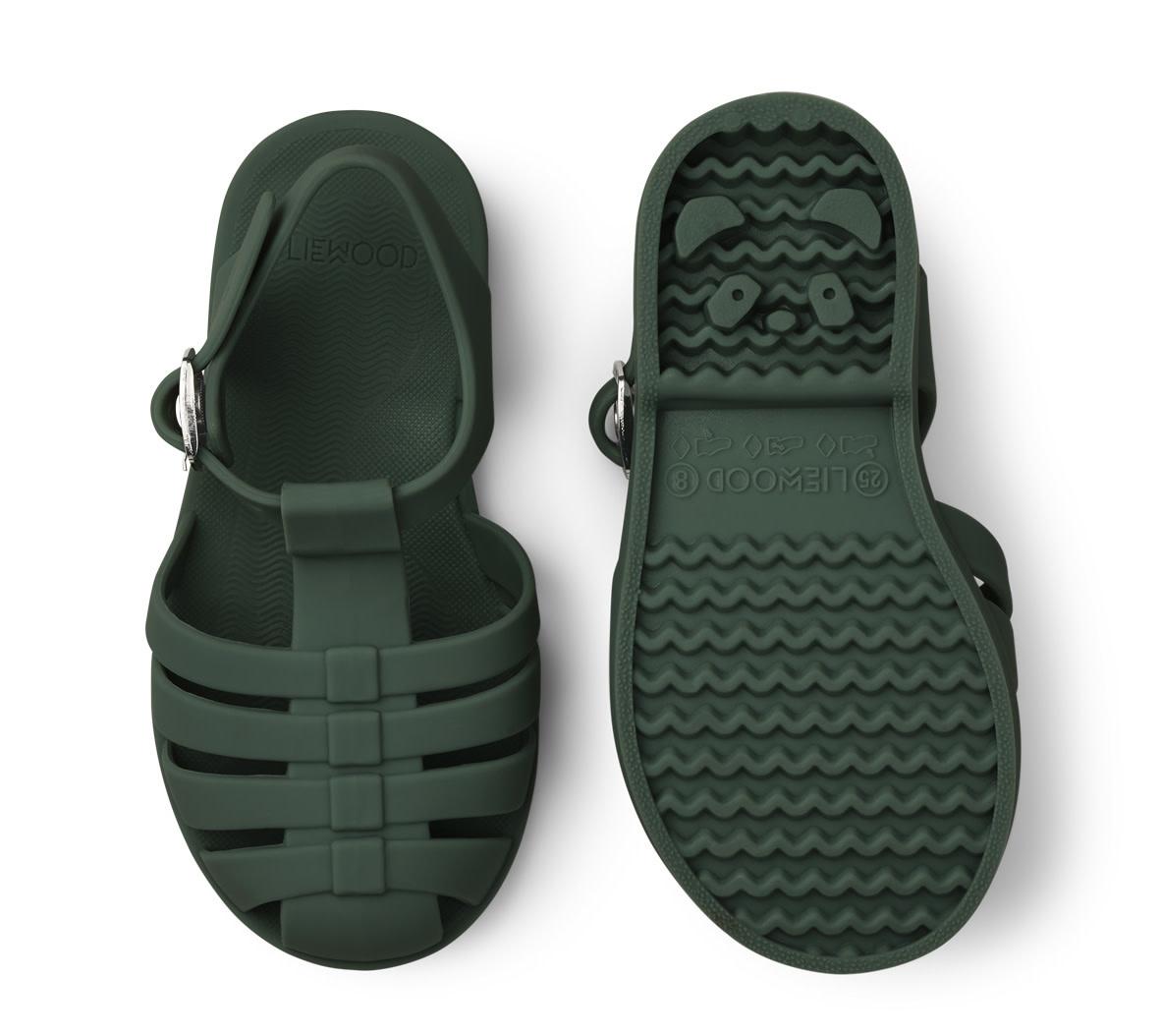 Bre sandals garden green-1