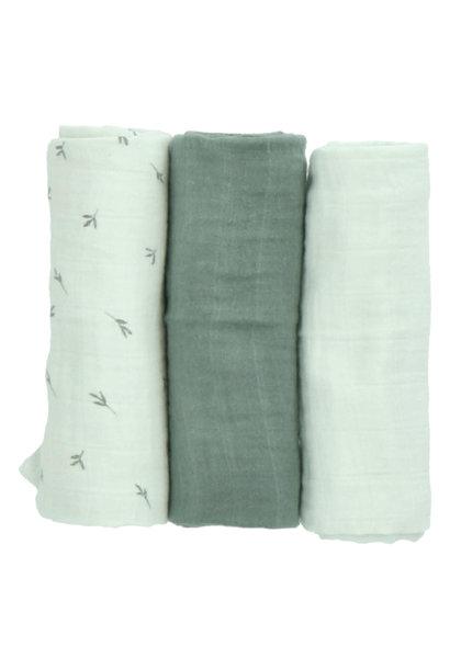 Morrison muslin cloths breeze leaves/breeze/bay