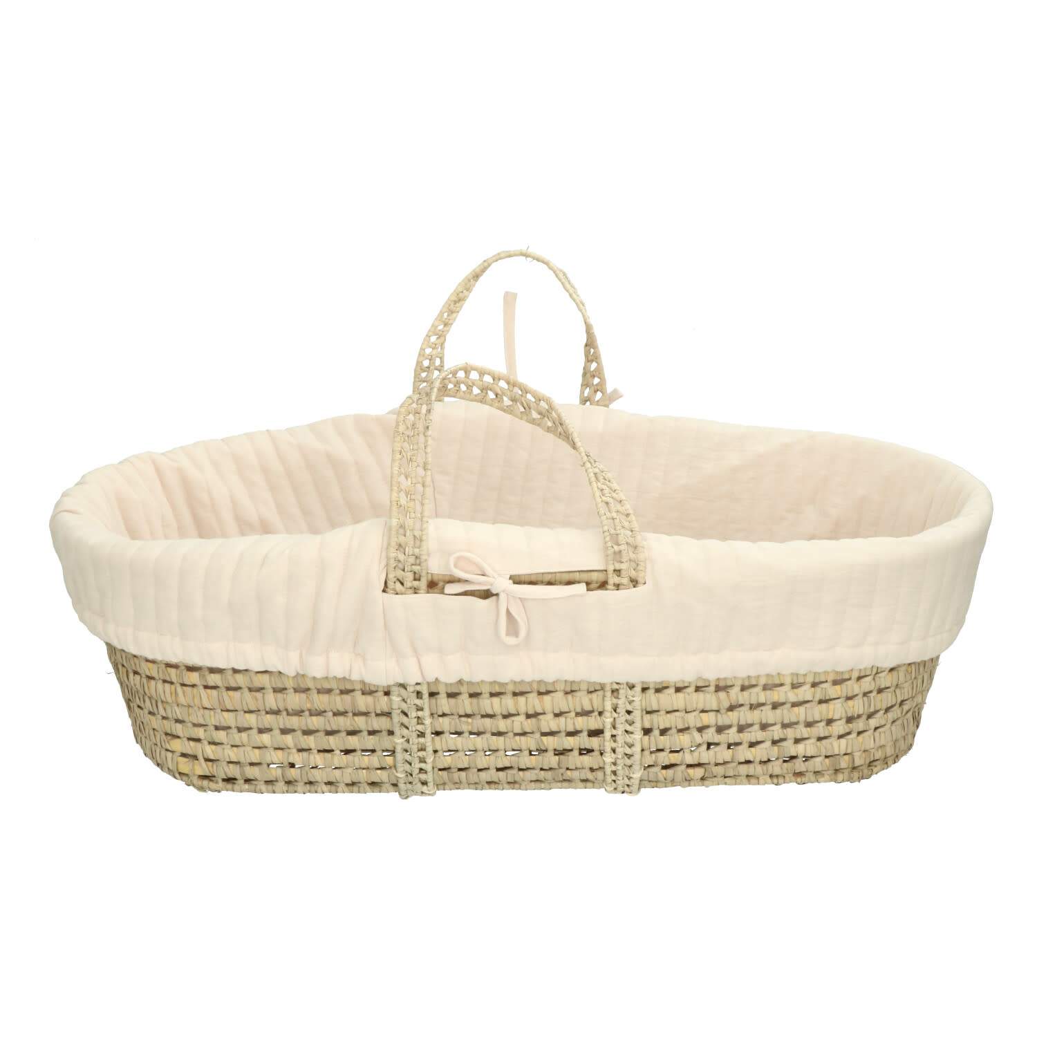 Marley moses basket with linen blossom-2