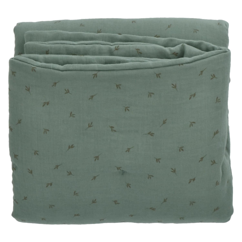 Baez blanket 70X90 bay/bay leaves-1