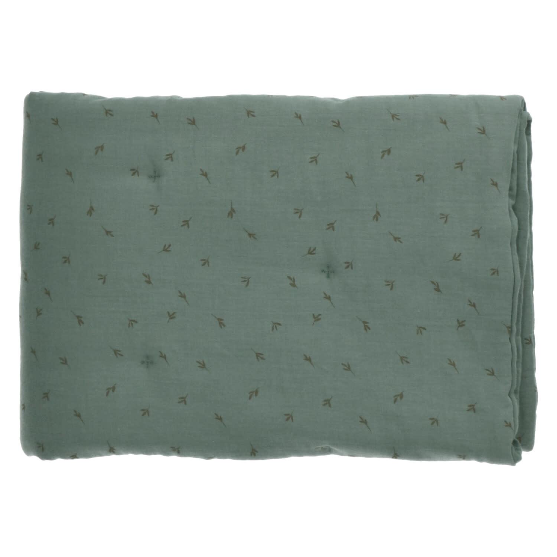 Baez blanket 70X90 bay/bay leaves-2