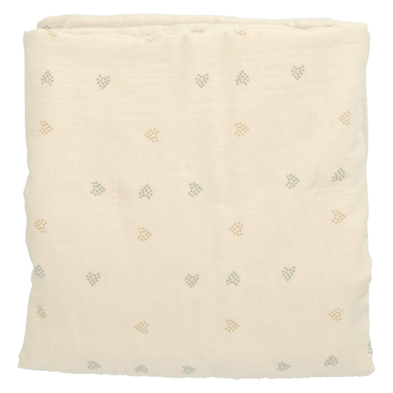 Baez blanket 70X90 blossom/blossom hearts-1
