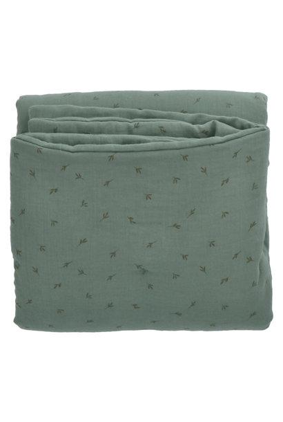 Baez blanket 100X140 bay/bay leaves