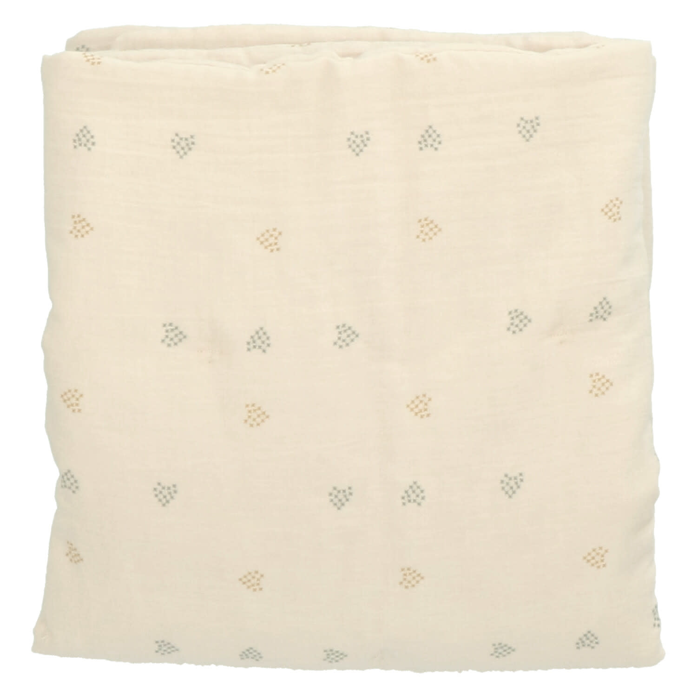 Baez blanket 100X140 blossom/blossom hearts-1