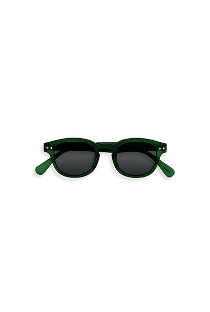 SUN #C junior 5-10Y green soft grey lenses