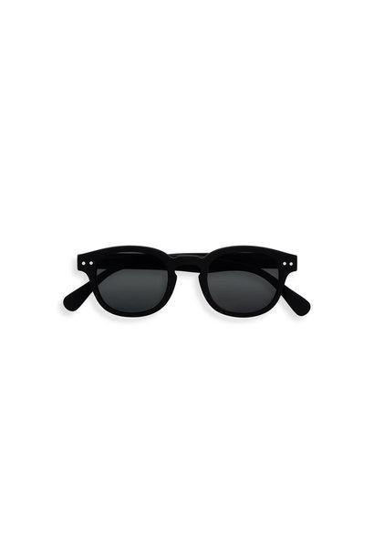SUN #C junior 5-10Y black soft grey lenses