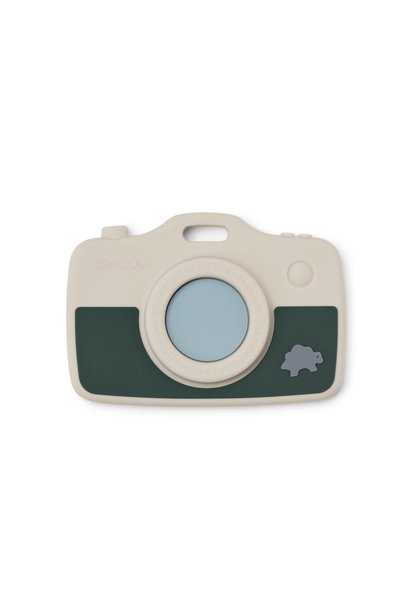Steven camera dino sandy/green garden mix