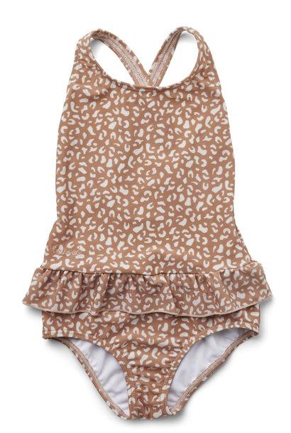 Amara swimsuit mini leo tuscany rose