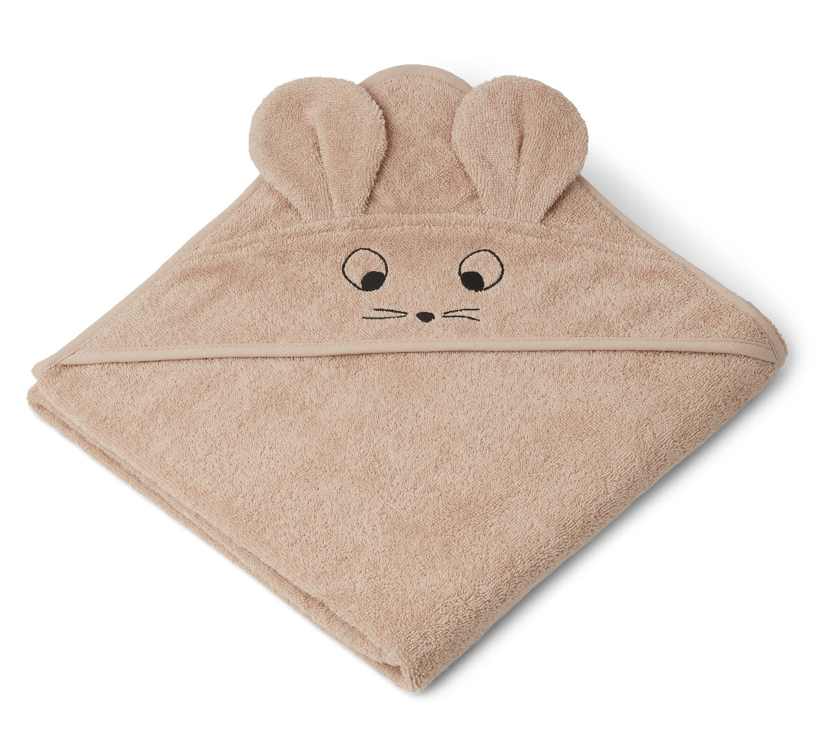 Augusta hooded towel mouse pale tuscany-1