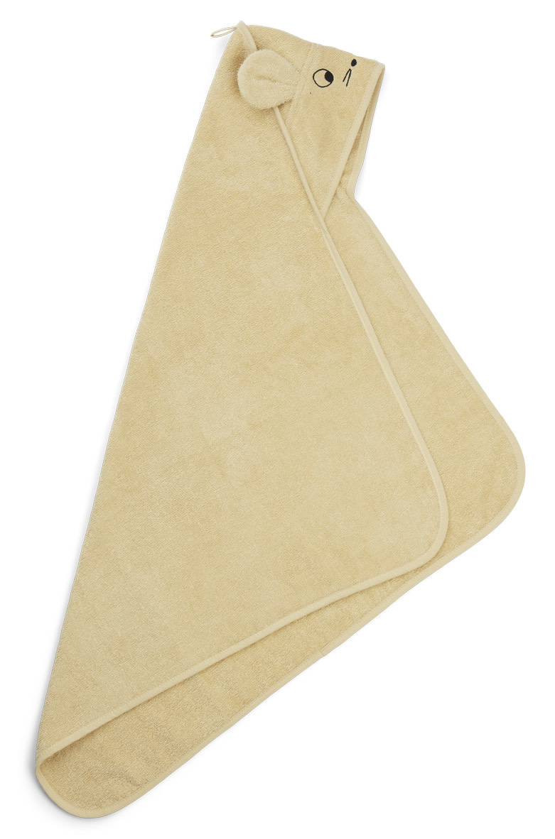 Albert hooded towel mouse wheat yellow-2