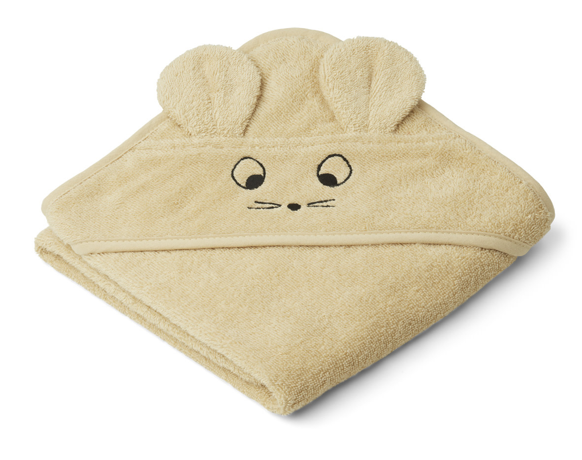Albert hooded towel mouse wheat yellow-1