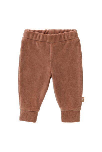 Trousers velours tawny brown