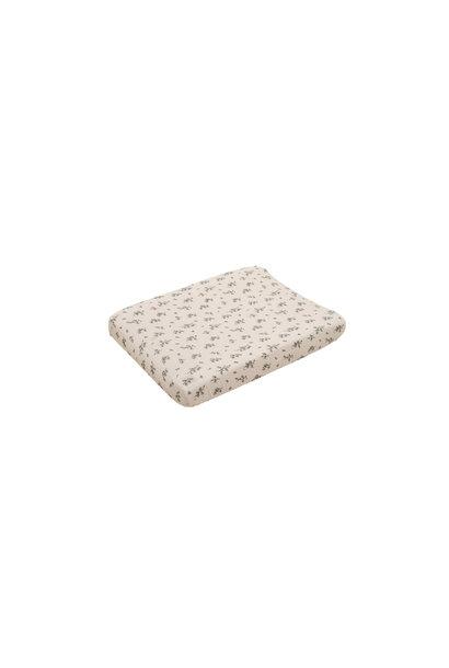 Bluebell muslin changing mat cover