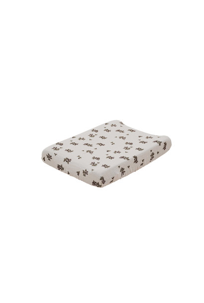Blackberry muslin changing mat cover