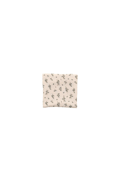 Bluebell muslin swaddle blanket