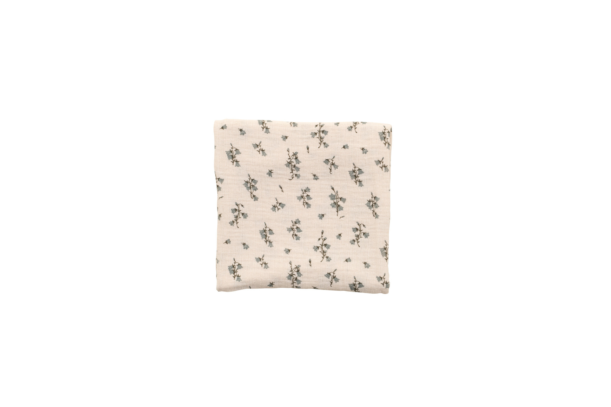 Bluebell muslin swaddle blanket-1
