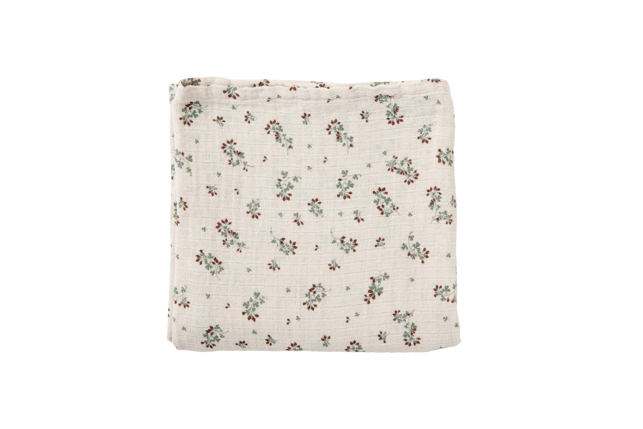 Clover muslin swaddle blanket-1