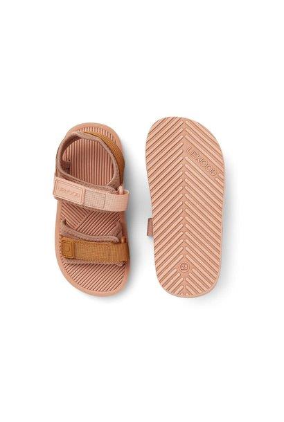 Monty sandals rose mix