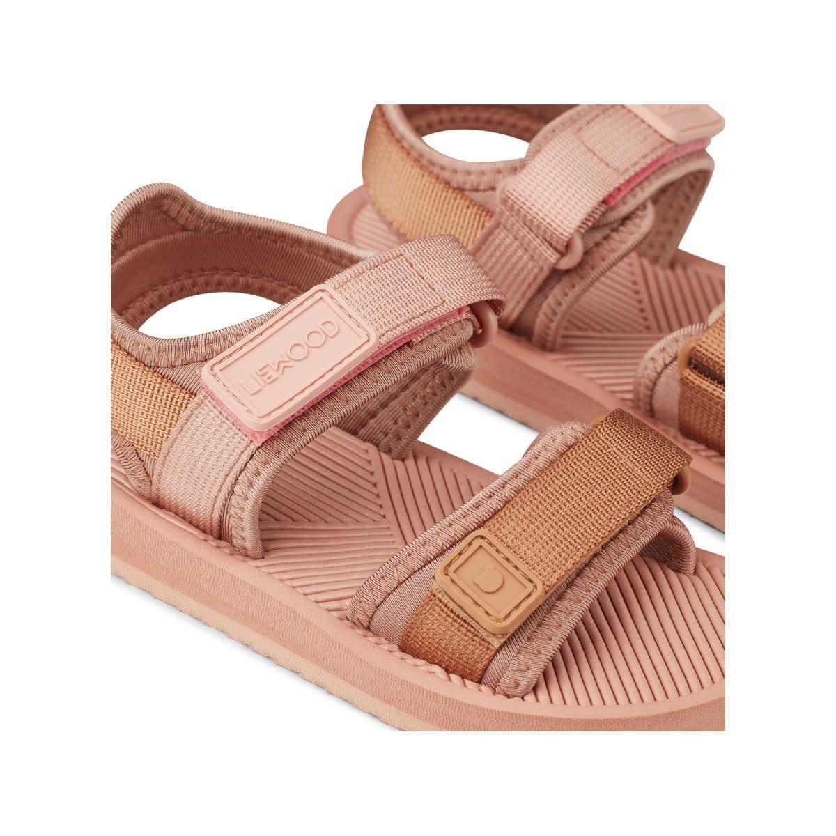 Monty sandals rose mix-3