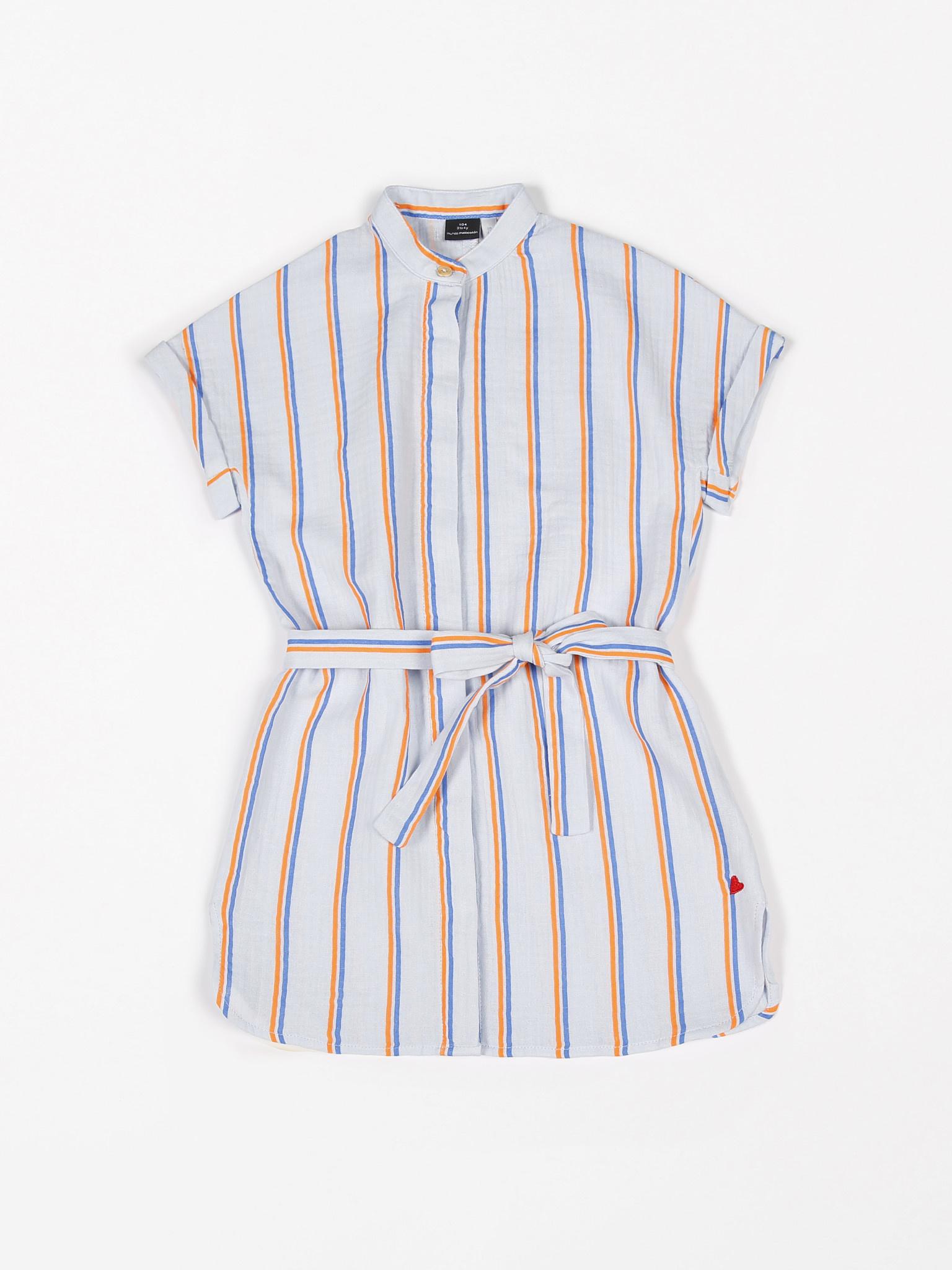 Dress short sleeve tetra fluo-1