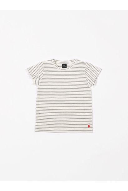 T-shirt jersey denim stripes
