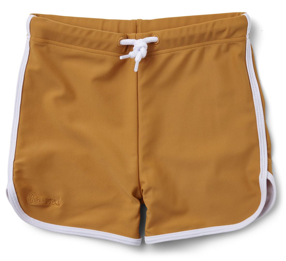 Dagger swim pants mustard-1