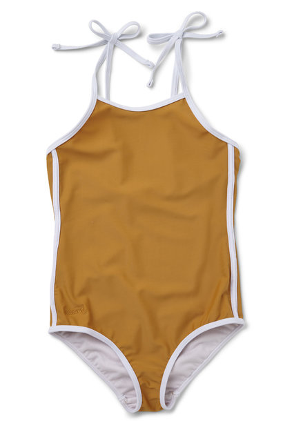 Gigi swimsuit mustard baby