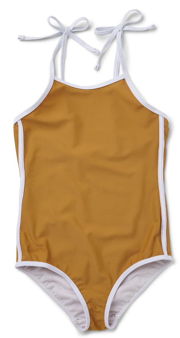 Gigi swimsuit mustard-1