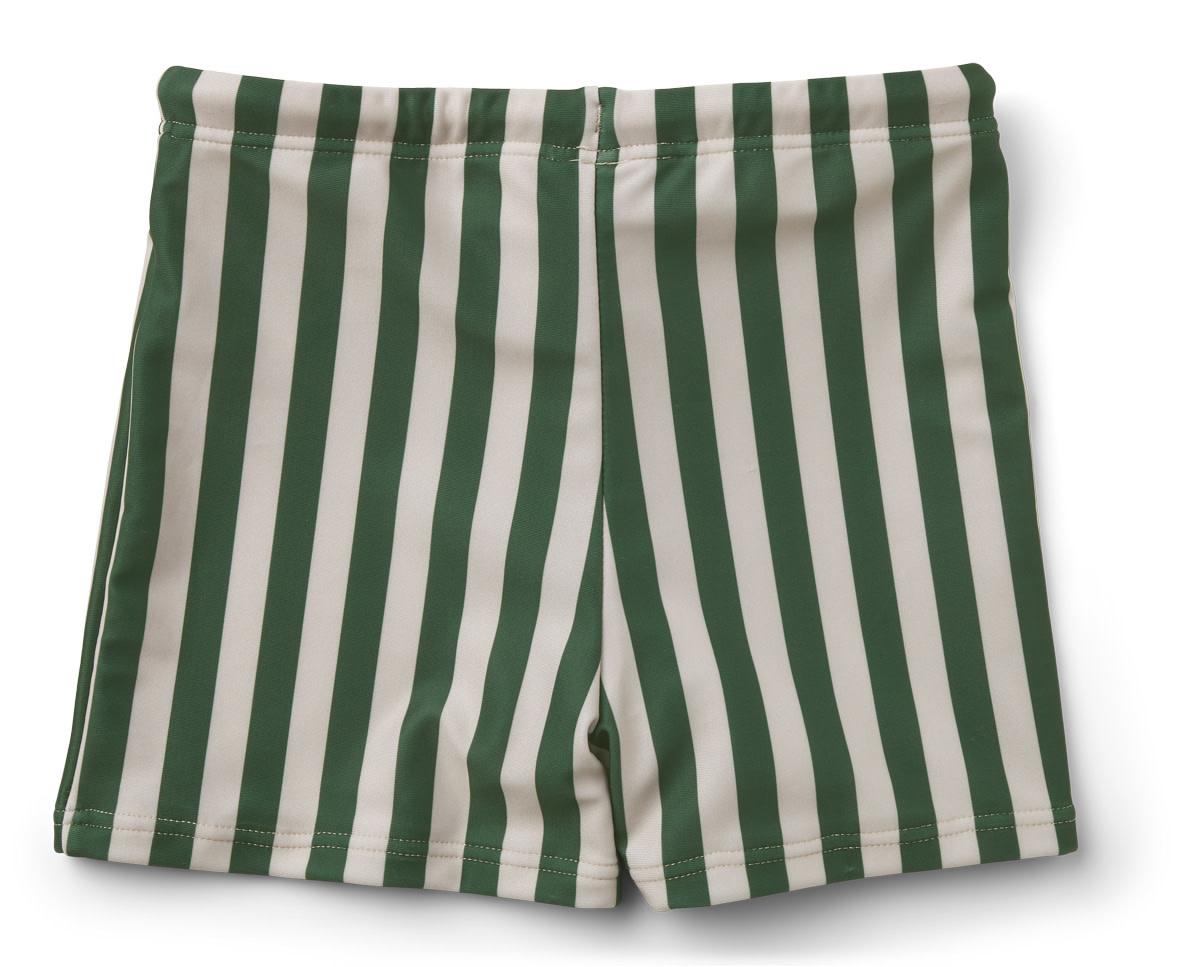 Otto swim pants stripe garden green/sandy baby-2