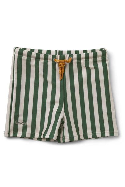 Otto swim pants stripe garden green/sandy baby