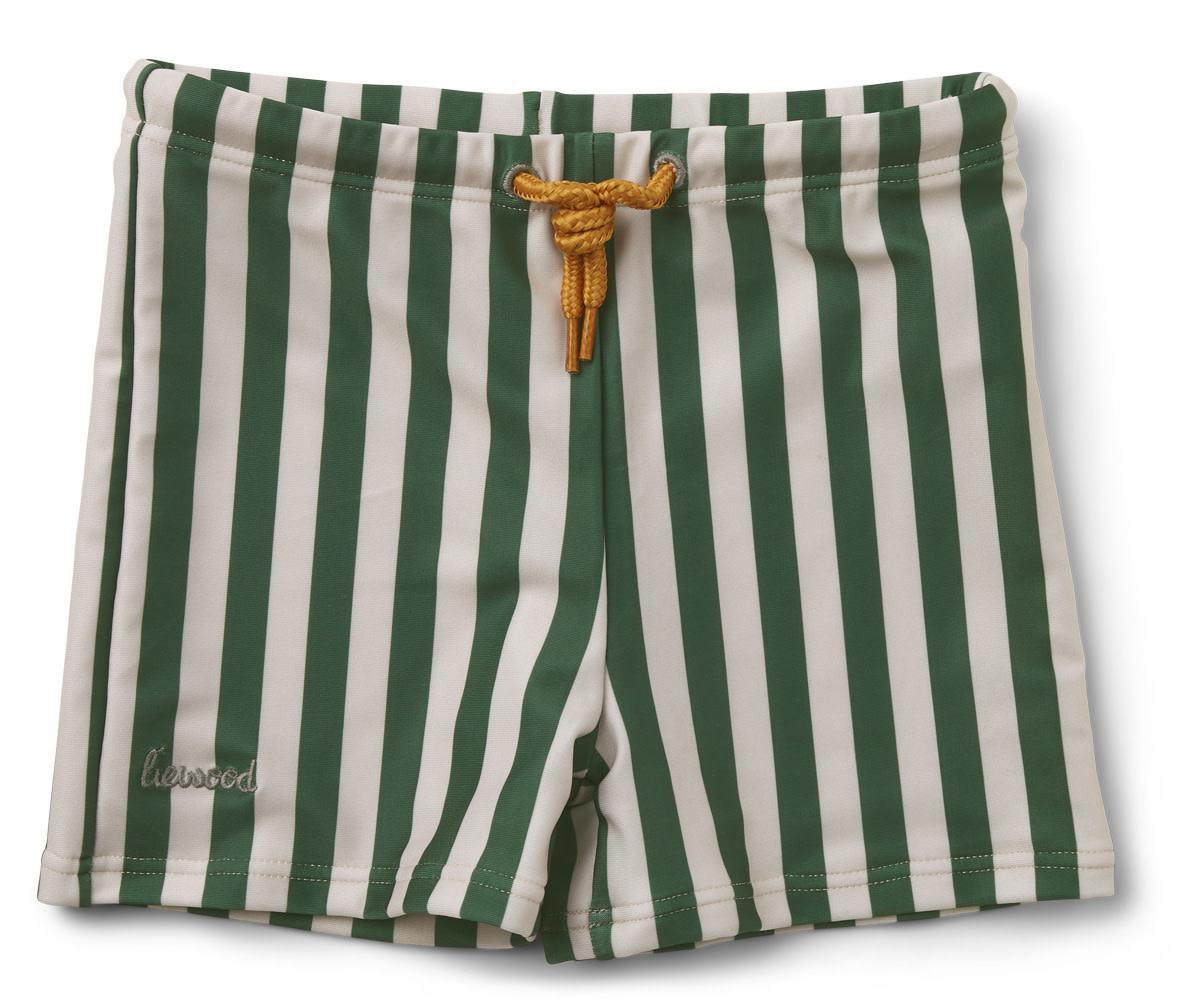 Otto swim pants stripe garden green/sandy baby-1