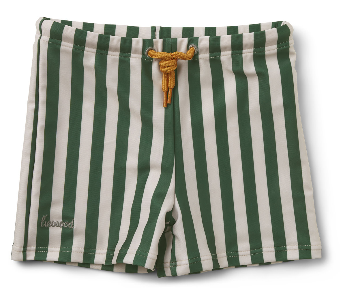 Otto swim pants stripe garden green/sandy-1